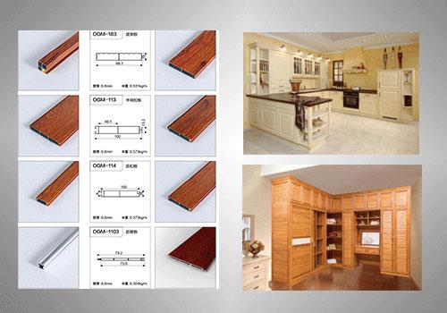 全铝仿实木橱柜衣柜门板-安阳沃莱美全铝家居-齐铝家居加盟署理,齐铝家具家装装修就来沃莱美!